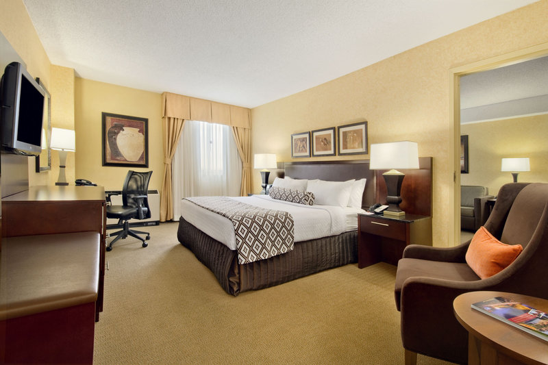 Crowne Plaza Denver Airport Convention Center-For extra space to stretch out and relax book our King Bed Suite<br/>Image from Leonardo