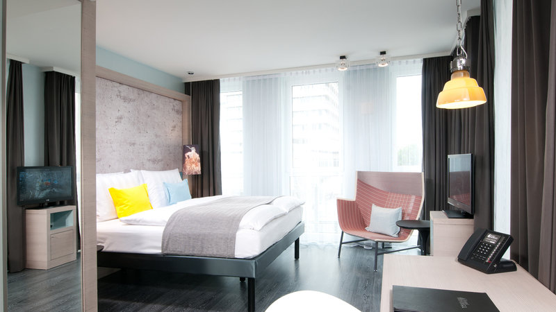 Hotel Indigo Berlin Centre Alexanderplatz-Stylish and modern design for work and rest<br/>Image from Leonardo