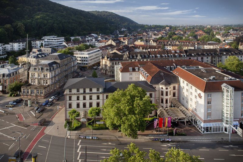 Crowne Plaza Heidelberg City Centre-Panoramic view of the hotel's surroundings in the city centre.<br/>Image from Leonardo