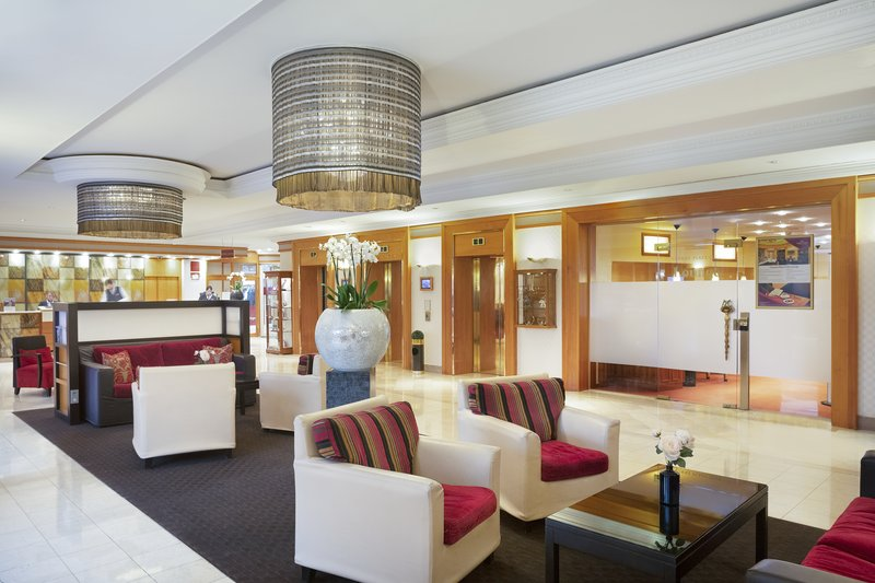 Crowne Plaza Heidelberg City Centre-The hotel's spacious lobby, perfect to relax with colleagues.<br/>Image from Leonardo