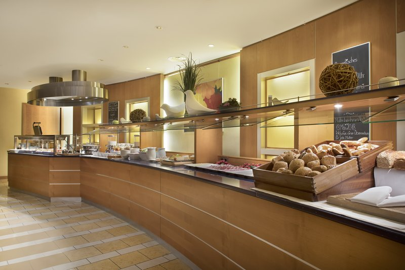Crowne Plaza Heidelberg City Centre-Fresh bread, German cheeses and hot dishes to start the day.<br/>Image from Leonardo