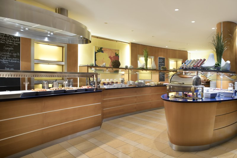 Crowne Plaza Heidelberg City Centre-Large selection on the breakfast buffet in Westcoast restaurant.<br/>Image from Leonardo