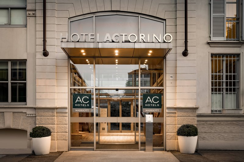 AC Hotel Torino-Entrance<br/>Image from Leonardo