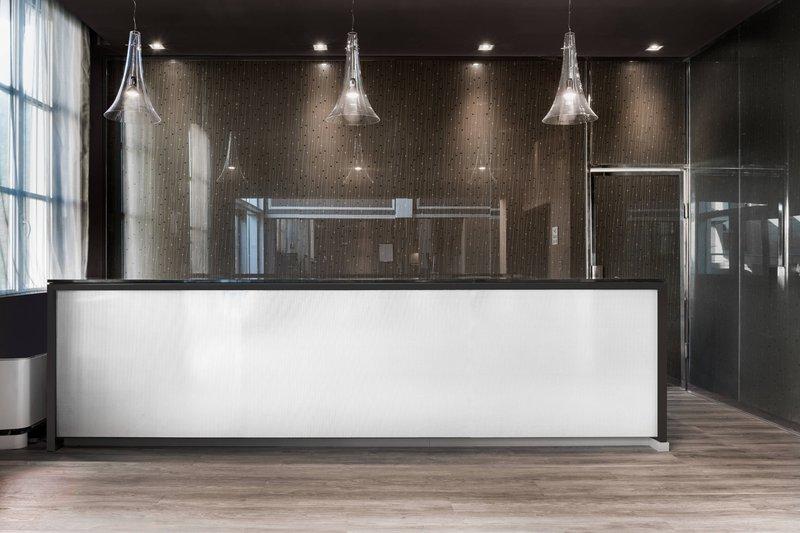 AC Hotel Torino-Reception<br/>Image from Leonardo