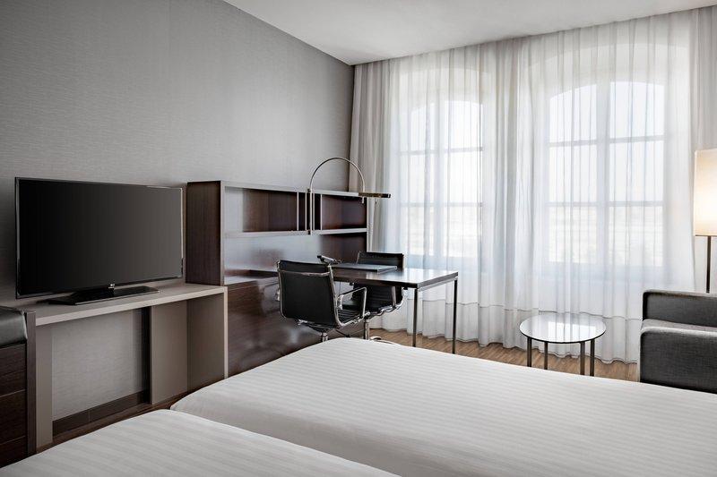 AC Hotel Torino-Twin/Twin Guest Room – Work Area<br/>Image from Leonardo
