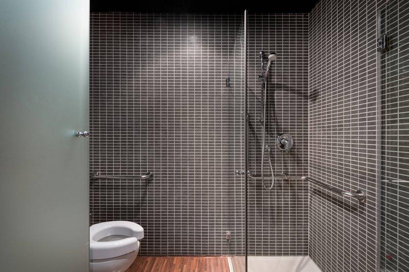 AC Hotel Torino-Adapted Guest Bathroom<br/>Image from Leonardo