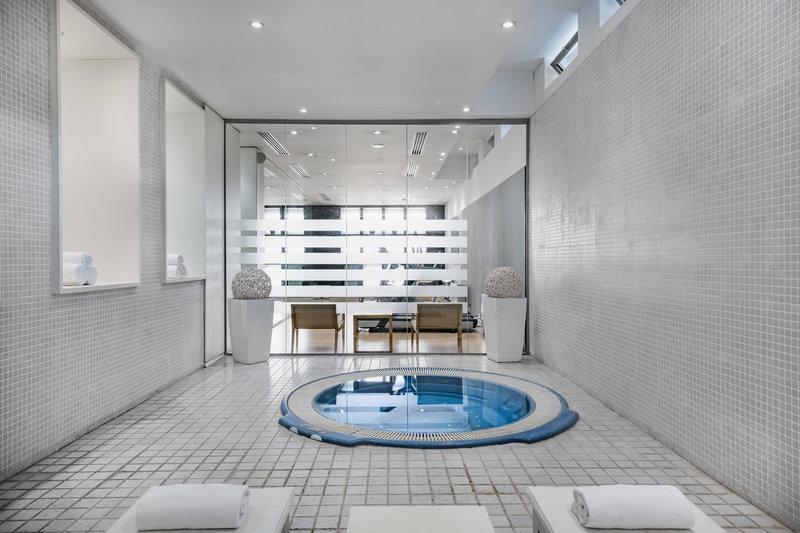 AC Hotel Torino-Fitness Center, Turkish Bath & Jacuzzi Area<br/>Image from Leonardo