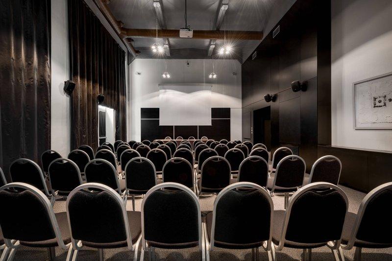 AC Hotel Torino-Forum B Meeting Room - Theater Setup<br/>Image from Leonardo