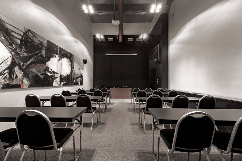AC Hotel Torino-Forum C Meeting Room - Classroom Setup<br/>Image from Leonardo