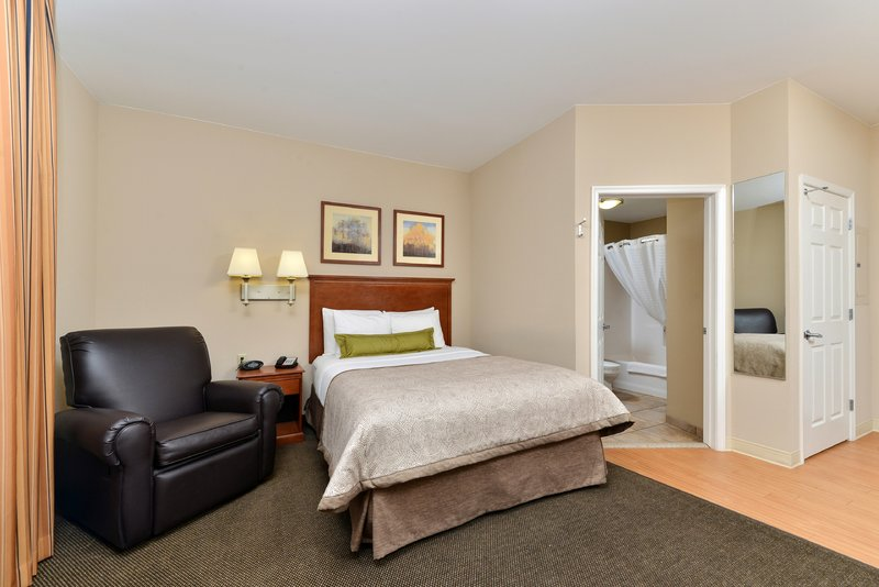 Candlewood Suites Chambersburg-Queen Bed Guest Room<br/>Image from Leonardo