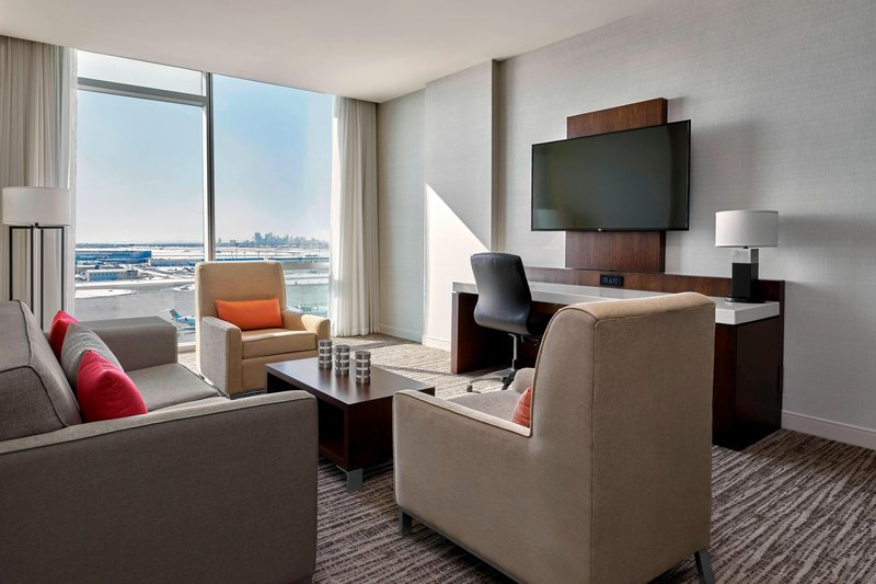 Delta Hotel Calgary Airport In-Terminal-Presidential Suite - Living Room<br/>Image from Leonardo