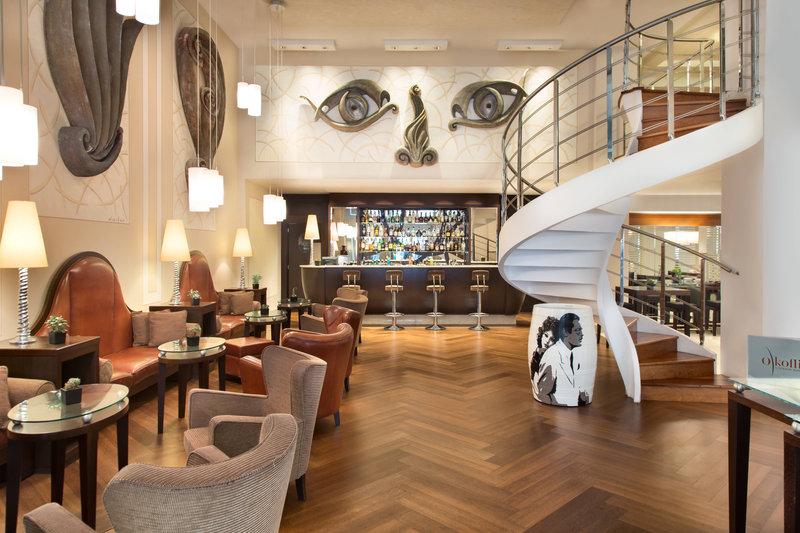 Renaissance Naples Hotel Mediterraneo-O'Koffi Lounge Bar<br/>Image from Leonardo