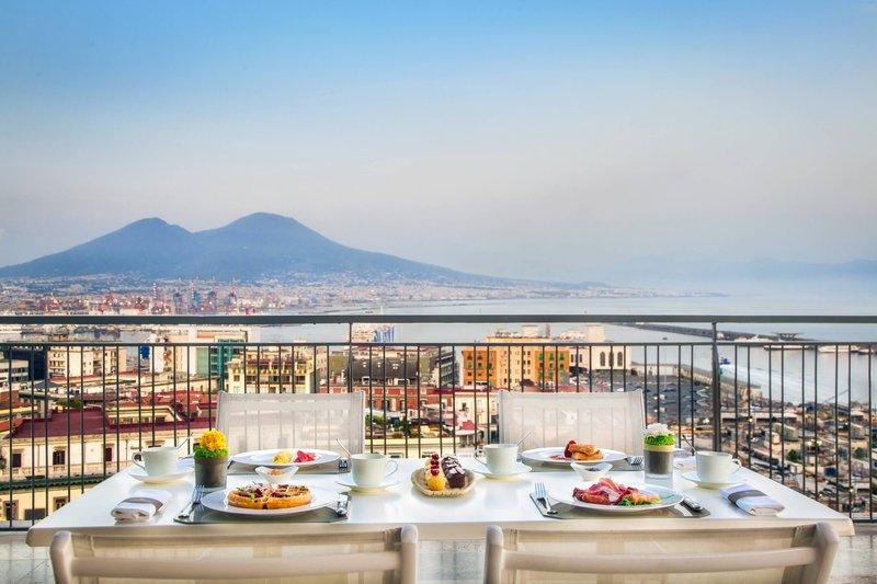 Renaissance Naples Hotel Mediterraneo-Roof Garden and Terrace Angiò<br/>Image from Leonardo
