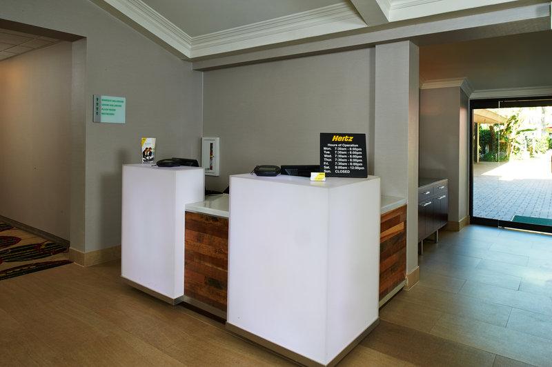 Holiday Inn Buena Park-Near Knott's-Hertz Car Rental located in our hotel lobby<br/>Image from Leonardo