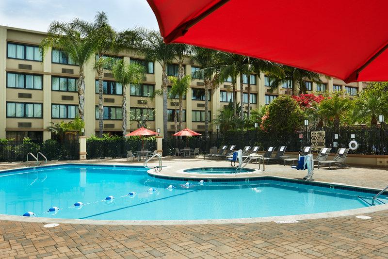 Holiday Inn Buena Park-Near Knott's-Enjoy sunbathing by the pool in the California sunshine<br/>Image from Leonardo