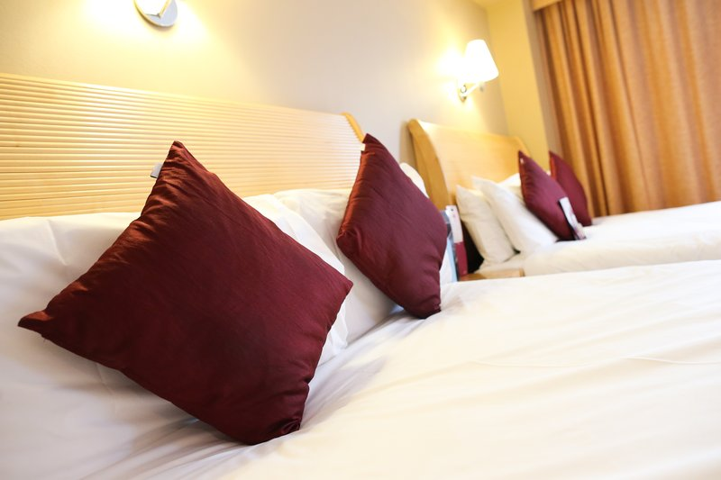 Crowne Plaza Manchester Airport-Two Double Beds<br/>Image from Leonardo