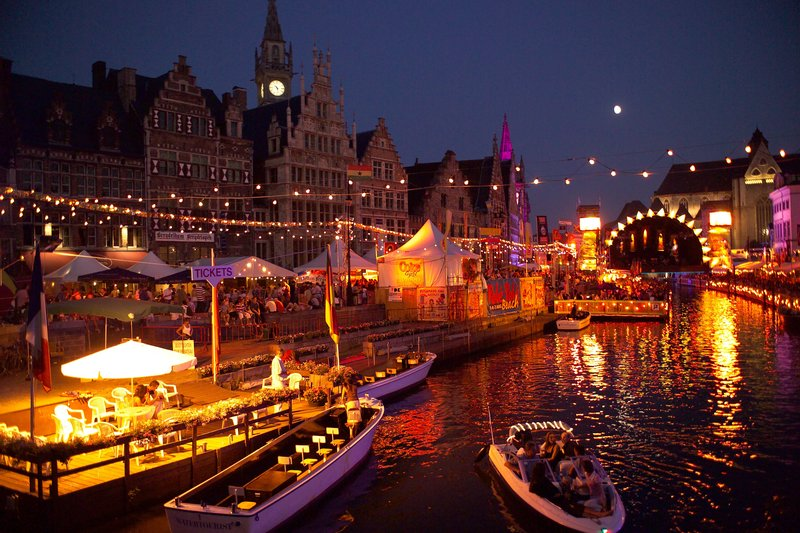 Holiday Inn Express Gent-The Ghent Festival, 10 days of free music & feasts in July (4 Km)<br/>Image from Leonardo