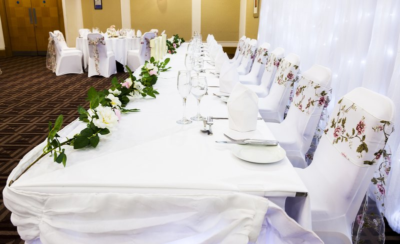 Holiday Inn Newcastle-Jesmond-Top table for your family and friends<br/>Image from Leonardo
