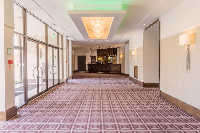 Holiday Inn Newcastle-Jesmond-The Cheviot foyer is good for serving coffee/tea breaks<br/>Image from Leonardo