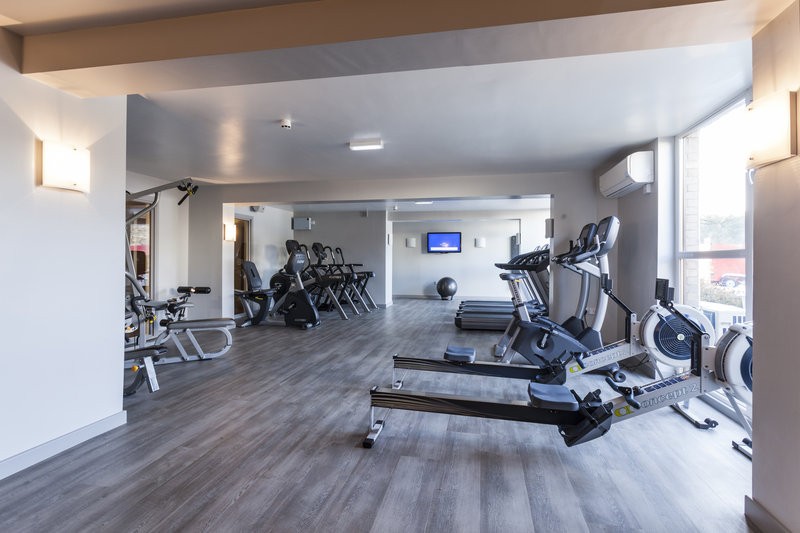 Holiday Inn Newcastle-Jesmond-Workout on one of the many machines<br/>Image from Leonardo