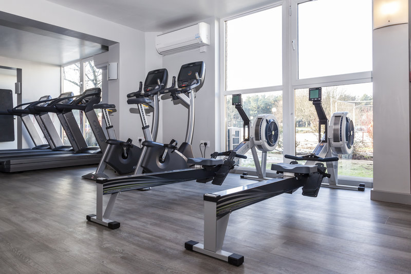Holiday Inn Newcastle-Jesmond-Rowing machines <br/>Image from Leonardo