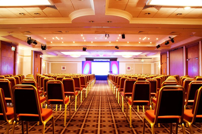 Holiday Inn Newcastle - Gosforth Park-Cheviot suite set up in a theatre style layout<br/>Image from Leonardo