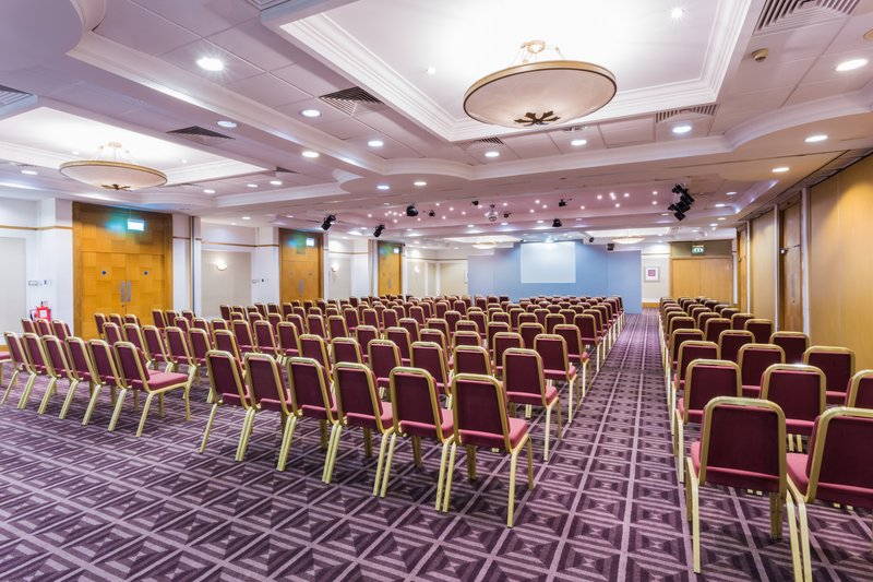 Holiday Inn Newcastle - Gosforth Park-Cheviot Suite can hold up to 450 delegates theatre style<br/>Image from Leonardo