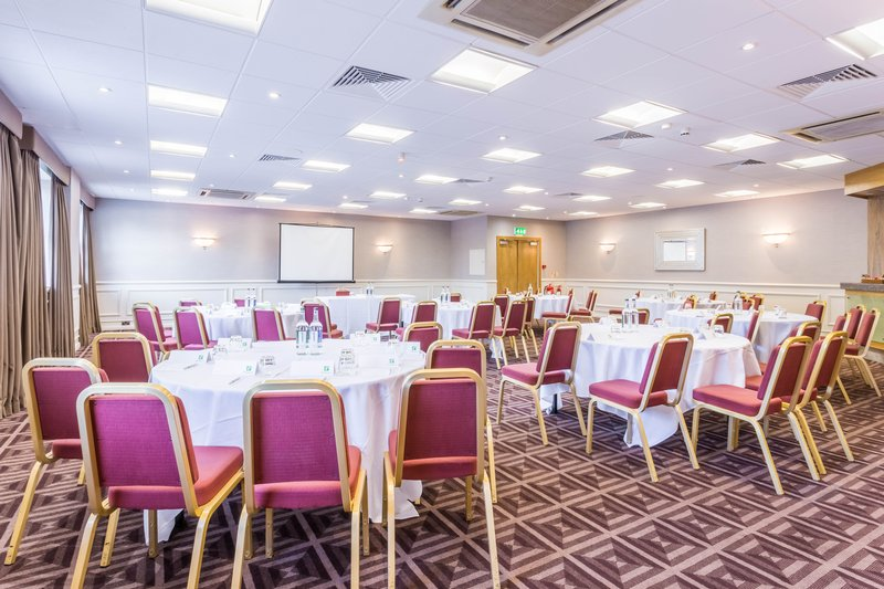 Holiday Inn Newcastle-Jesmond-Ridley suite set up in a cabaret style<br/>Image from Leonardo