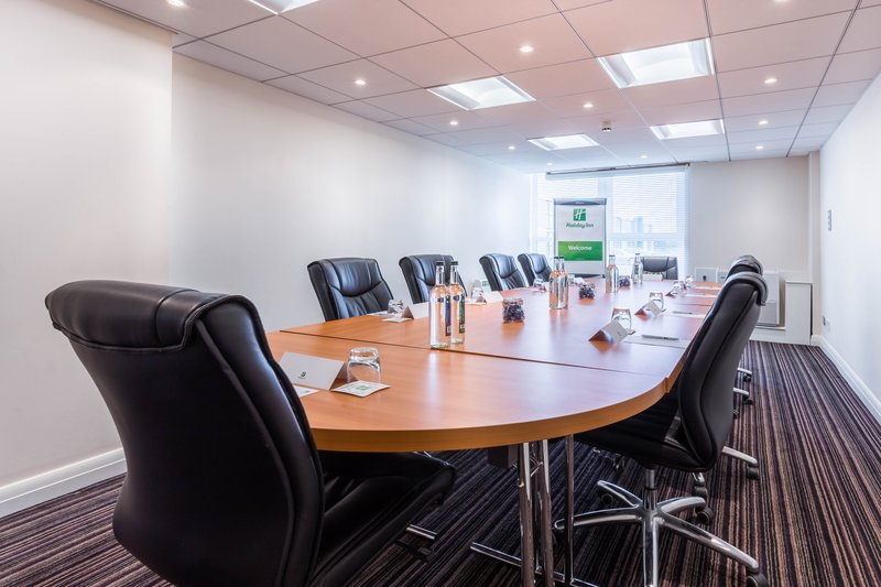 Holiday Inn Newcastle-Jesmond-Swan suite set up in a boardroom style<br/>Image from Leonardo