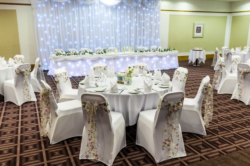 Holiday Inn Newcastle-Jesmond-Beautiful top table starlight back drop<br/>Image from Leonardo