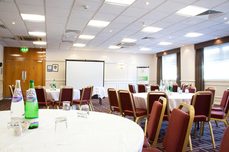 Holiday Inn Newcastle-Jesmond-Ridley Suite set for a conference<br/>Image from Leonardo