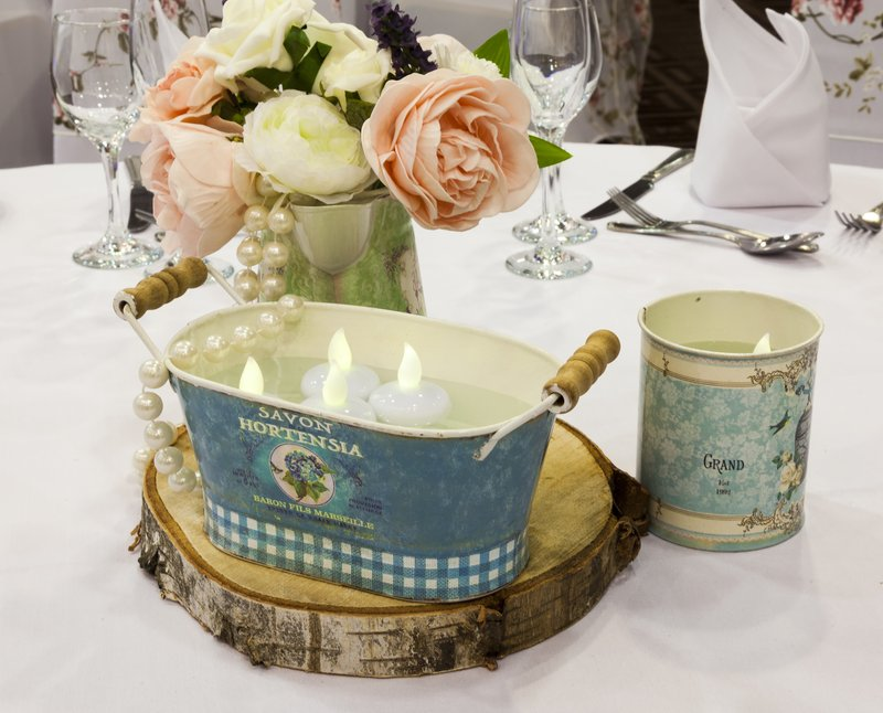 Holiday Inn Newcastle - Gosforth Park-Ask for our range of table centres<br/>Image from Leonardo