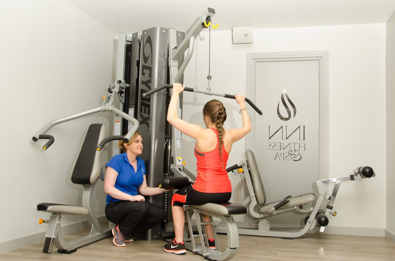 Holiday Inn Newcastle - Gosforth Park-Why not ask a team member in the gym for advise re the machine<br/>Image from Leonardo