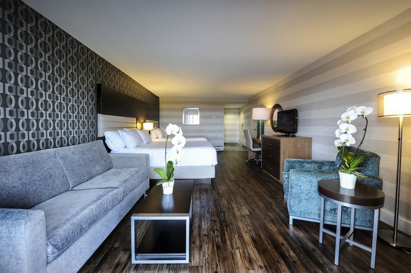 Holiday Inn Niagara Falls - by the Falls-Enough space for the whole family in our brand new 2 Queen Beds<br/>Image from Leonardo
