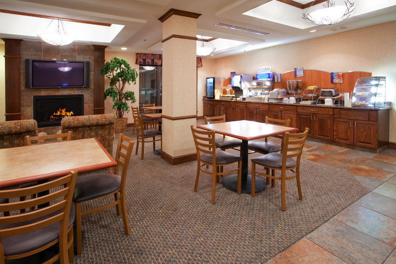 Holiday Inn Express & Suites Salt Lake City - Airport East-Breakfast Area<br/>Image from Leonardo