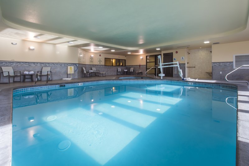 Holiday Inn Express & Suites Colorado Springs Central-Take a dip in our indoor heated pool.<br/>Image from Leonardo