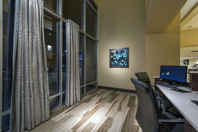 Holiday Inn Express & Suites Colorado Springs Central-Stay connected in our 24 hour business center.<br/>Image from Leonardo
