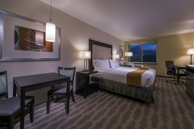 Holiday Inn Express & Suites Colorado Springs Central-All guest rooms include complimentary WIFI and Keurig coffee maker<br/>Image from Leonardo