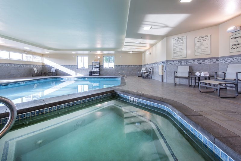 Holiday Inn Express & Suites Colorado Springs Central-Relax in our whirlpool after a hard day's work.<br/>Image from Leonardo