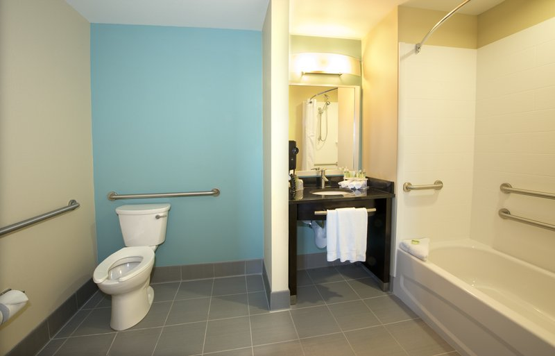 Holiday Inn Express & Suites Colorado Springs Central-Wheelchair accessible rooms meet all ADA requirements.<br/>Image from Leonardo