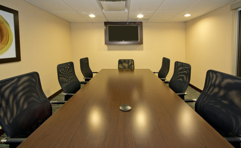 Holiday Inn Express & Suites Colorado Springs Central-Our Cheyenne Mountain Boardroom is ideal for conducting interviews<br/>Image from Leonardo