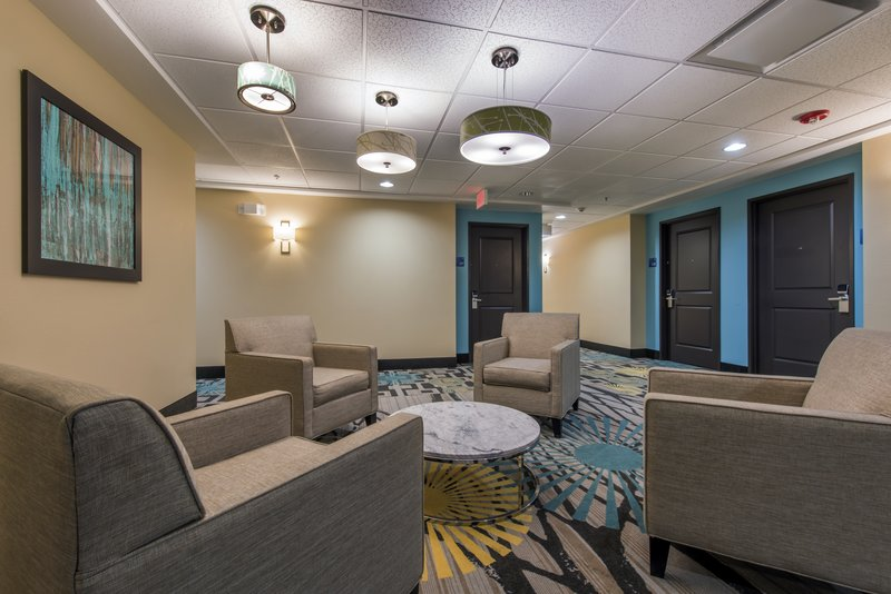 Holiday Inn Express & Suites Colorado Springs Central-Enjoy complimentary WIFI in our guest lounge.<br/>Image from Leonardo