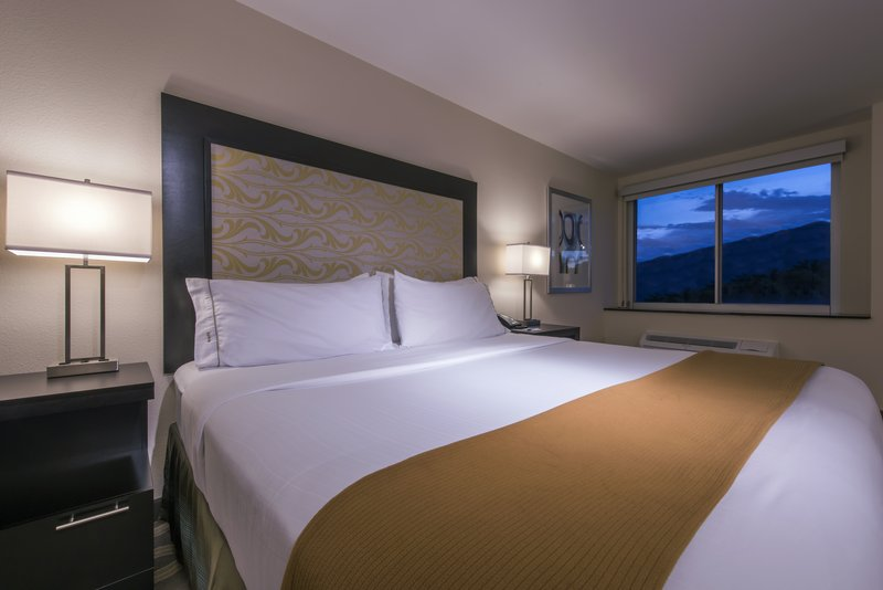 Holiday Inn Express & Suites Colorado Springs Central-King accessible room with with Keurig coffee maker.<br/>Image from Leonardo