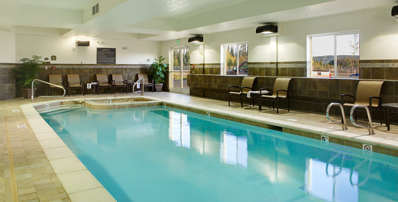 Holiday Inn Express & Suites Fairbanks-Relax in our indoor heated pool & spa<br/>Image from Leonardo