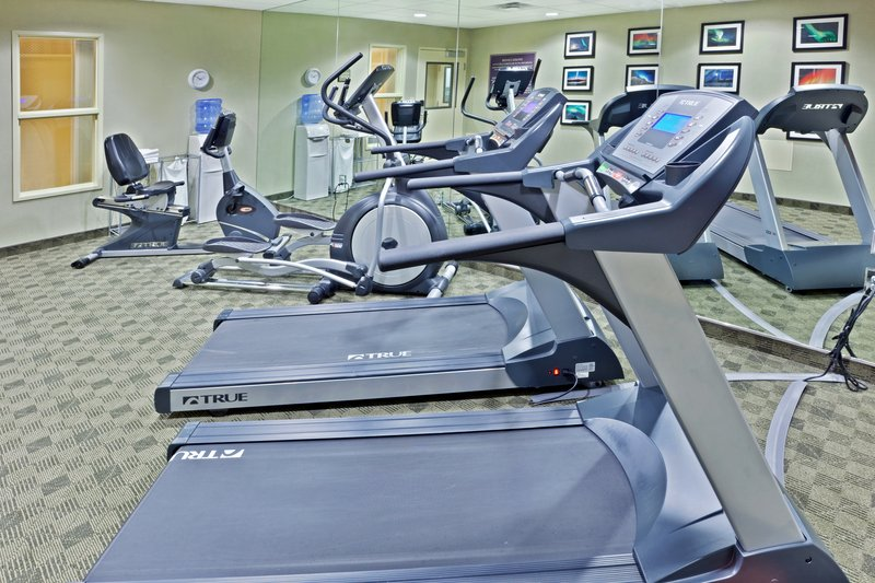Holiday Inn Express & Suites Fairbanks-24 hour fitness center<br/>Image from Leonardo
