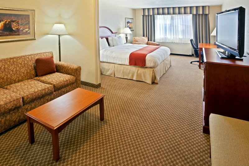 Holiday Inn Express & Suites Fairbanks-King Bed Guest Room<br/>Image from Leonardo
