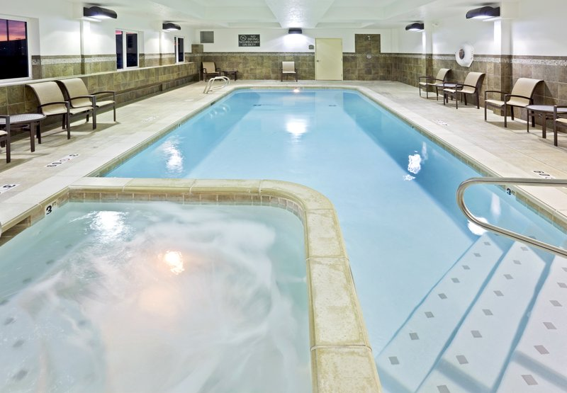 Holiday Inn Express & Suites Fairbanks-Nothing but bubbles in our spa.<br/>Image from Leonardo