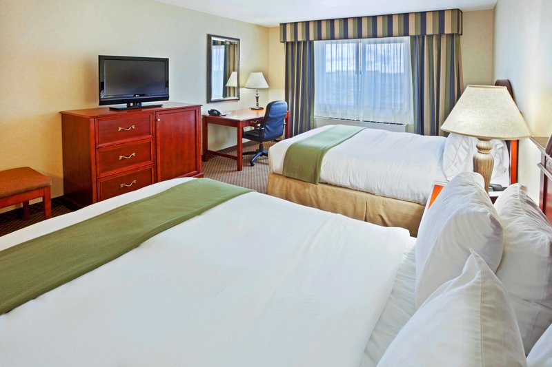 Holiday Inn Express & Suites Fairbanks-Double Bed Guest Room<br/>Image from Leonardo