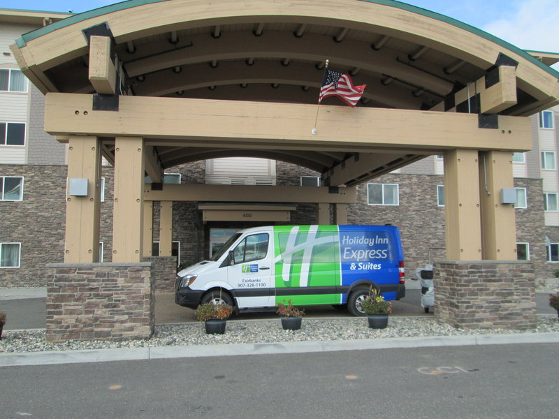 Holiday Inn Express & Suites Fairbanks-Our brand new hotel shuttle is fueled up and ready to roll!<br/>Image from Leonardo