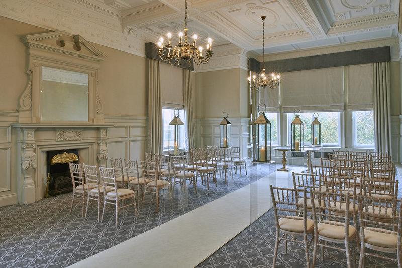 Principal York- The Crown room ideal for wedding civil ceremonies in York<br/>Image from Leonardo